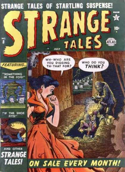 Strange Tales 8
