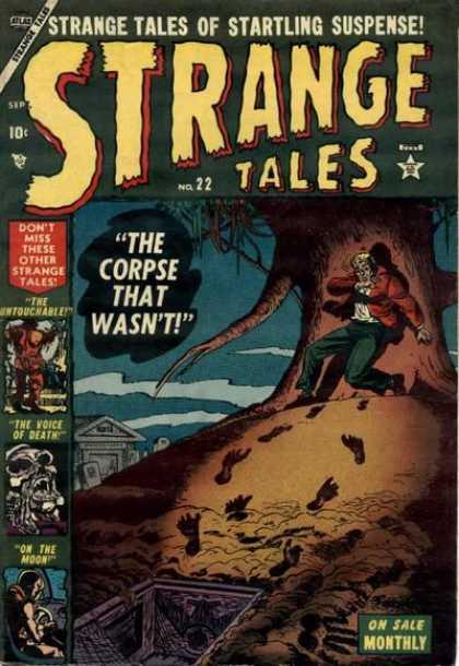 Strange Tales 22