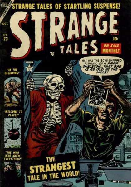 Strange Tales 23