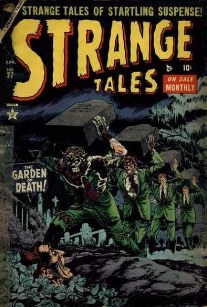 Strange Tales 27