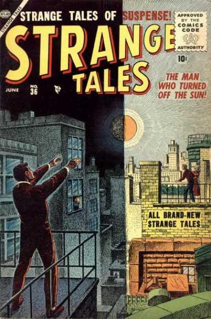 Strange Tales 36