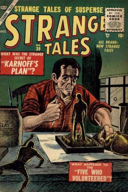 Strange Tales 39