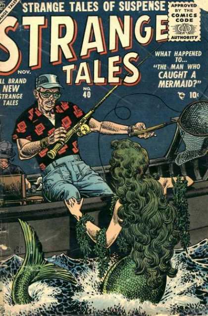 Strange Tales 40