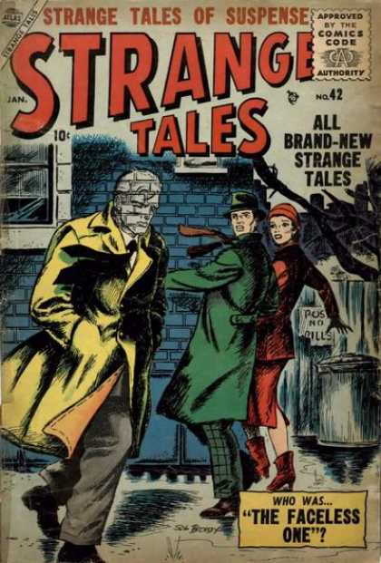 Strange Tales 42