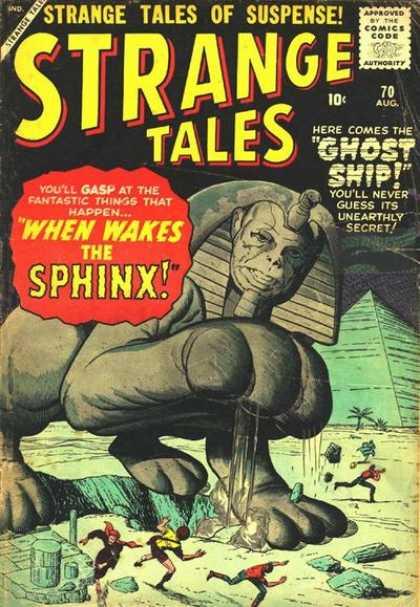 Strange Tales 70