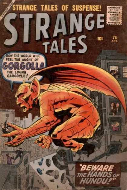 Strange Tales 74