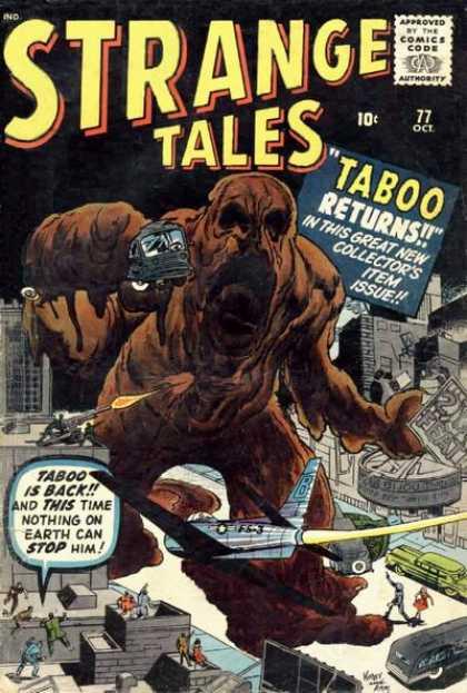 Strange Tales 77