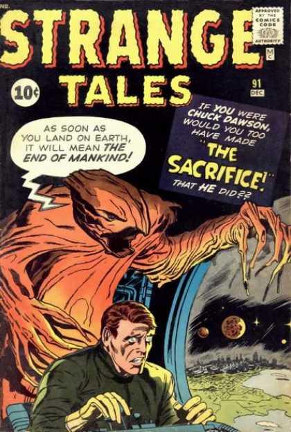 Strange Tales 91