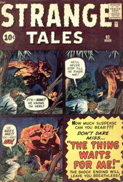 Strange Tales 92