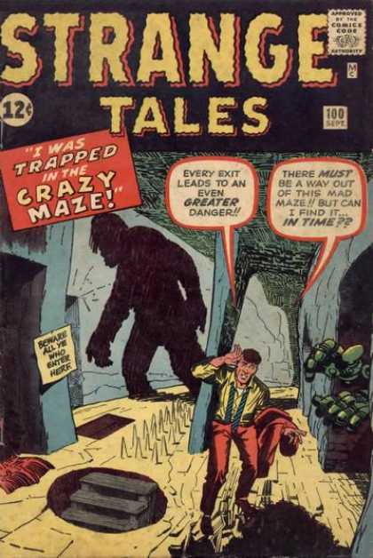 Strange Tales 100