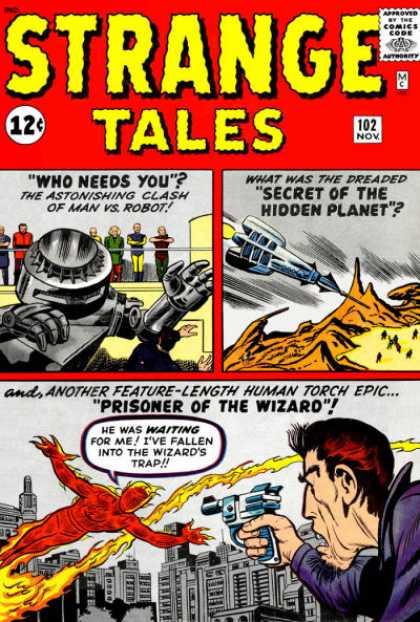Strange Tales 102