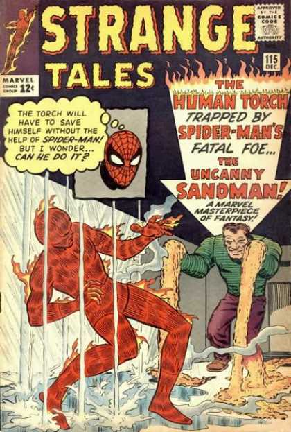 Strange Tales 115 - The Sandman Strikes!