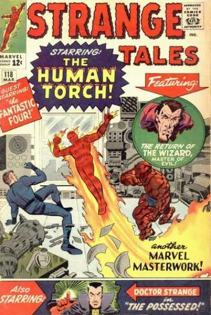 Strange Tales 118