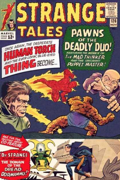 Strange Tales 126