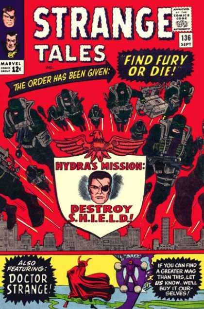 Strange Tales 136 - Find Fury or Die!