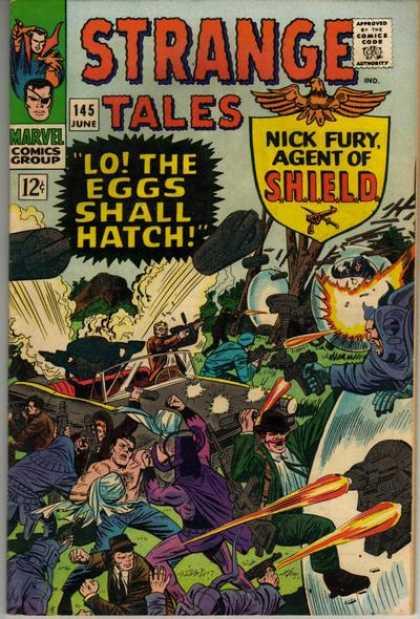 Strange Tales 145