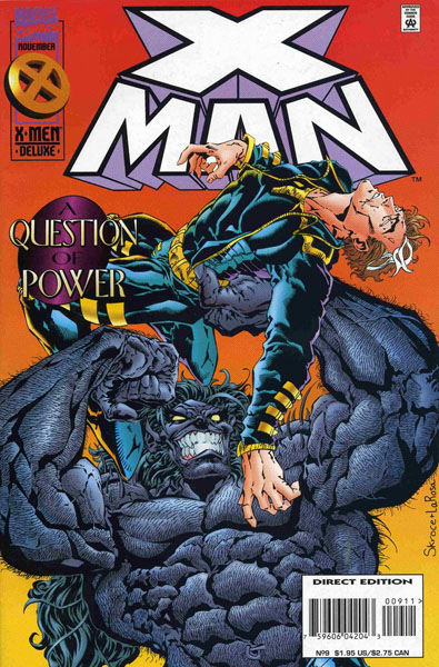 X-Man 9 - A Question of Power
