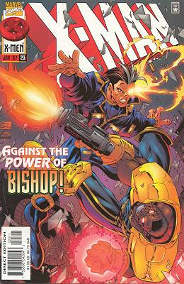 X-Man 23 - Crash Course