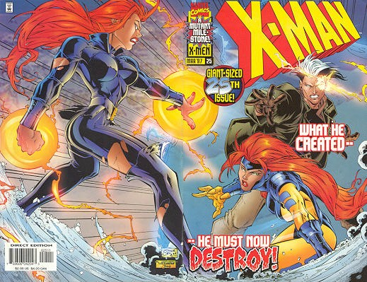X-Man 25 - Closer to the Flame