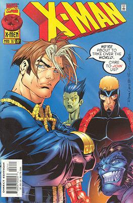 X-Man 27 - Blood Brothers