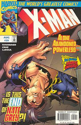 X-Man 29 - Dead Ahead