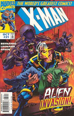 X-Man 31 - The Last Innocent Mind