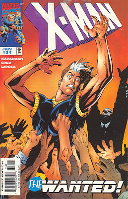 X-Man 34 - Messiah Complex: The Ride
