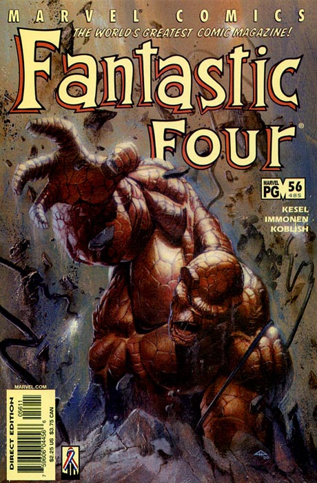 Fantastic Four 56 - Remembrance Of Things Past