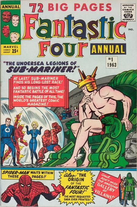 Fantastic Four 1 - 1963 : Sub-Mariner Versus The Human Race!