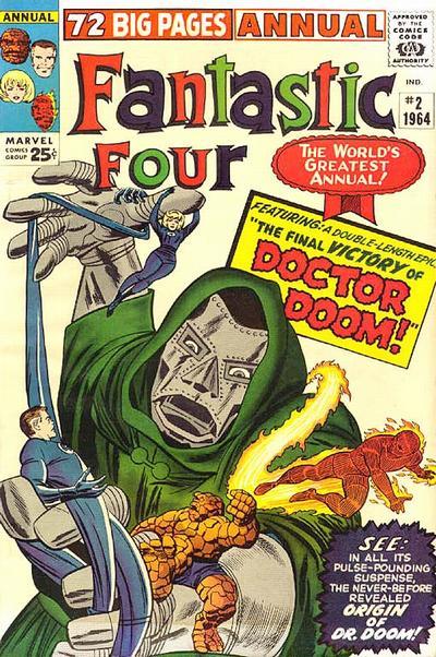 Fantastic Four 2 - 1964 : The Fantastic Origin Of Doctor Doom !
