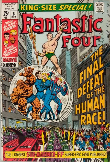 Fantastic Four 8 - 1970 : Sub-Mariner Versus the Human Race