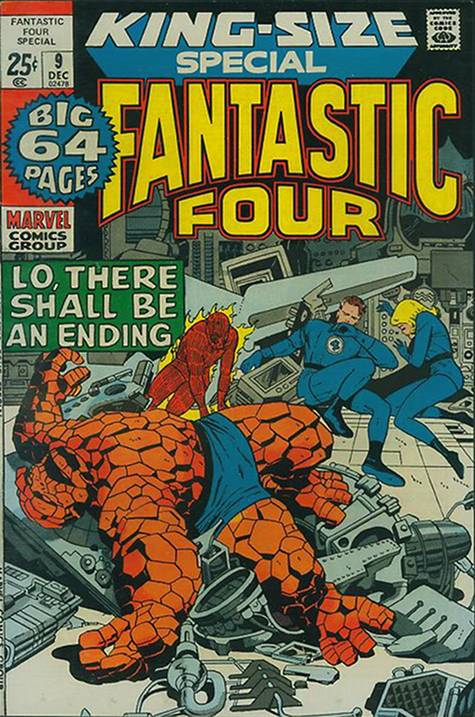 Fantastic Four 9 - 1971 : Lo, There Shall Be an Ending