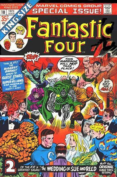 Fantastic Four 10 - 1973 : Bedlam at the Baxter Building