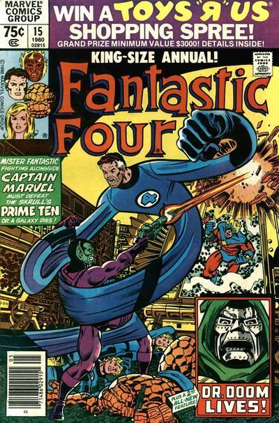 Fantastic Four 15 - 1980