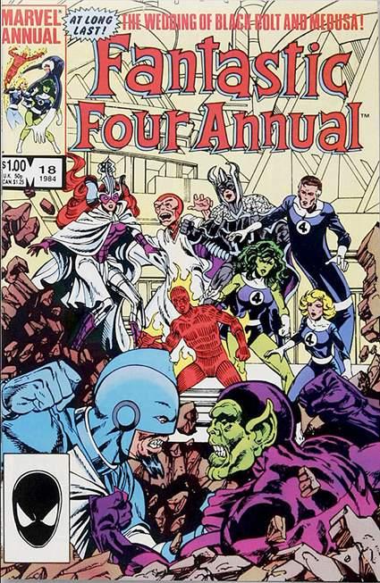 Fantastic Four 18 - 1984 : Something Old, Something New