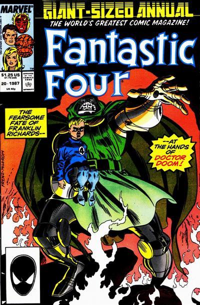 Fantastic Four 20 - 1987 : Double Double / Double Dealing! / Double Down!