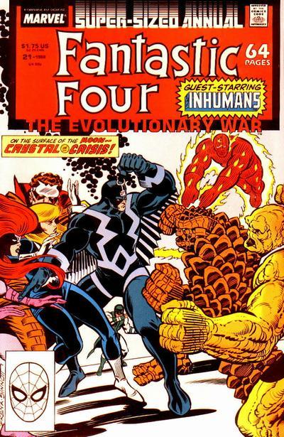 Fantastic Four 21 - 1988 : Crystal Blue Persuasion!