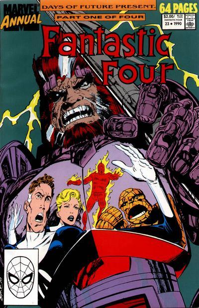 Fantastic Four 23 - 1990 : When Franklin Comes Marchin' Home