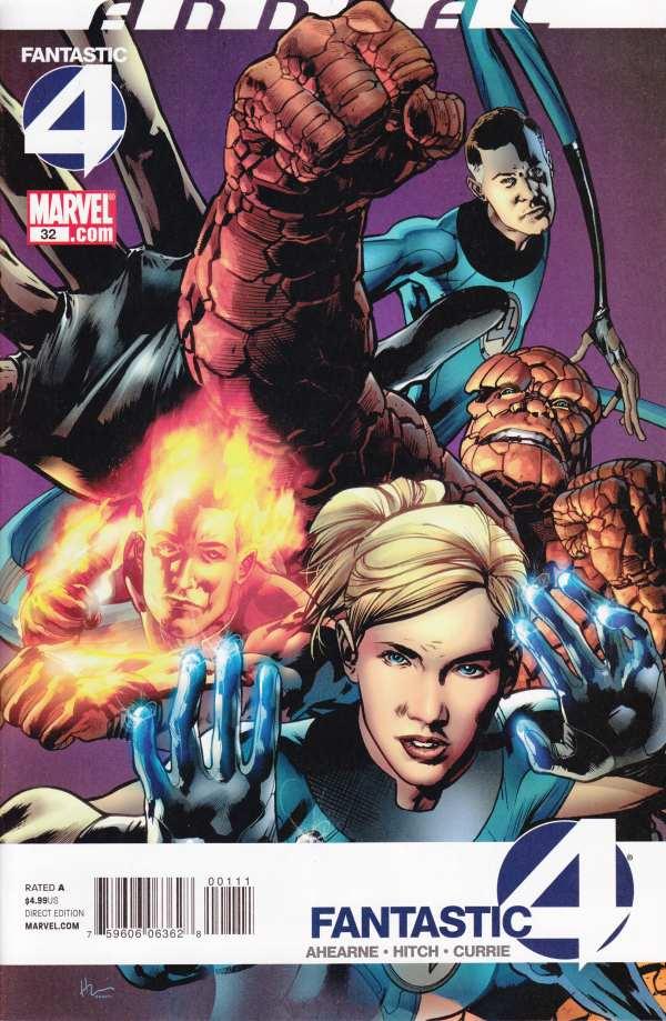 Fantastic Four 32 - 2010 : A Little Stranger