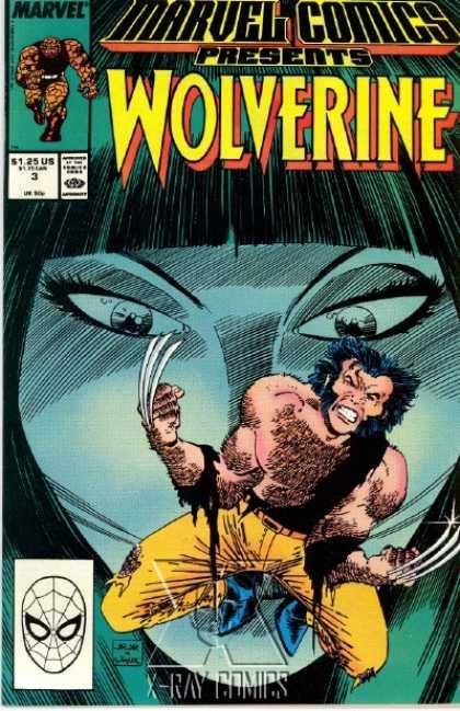 Marvel Comics Presents 3 - Wolverine, Man-Thing, Shang-Chi, The Thing