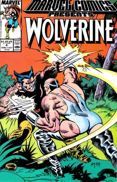 Marvel Comics Presents 4 - Wolverine, Man-Thing, Shang-Chi, Thor