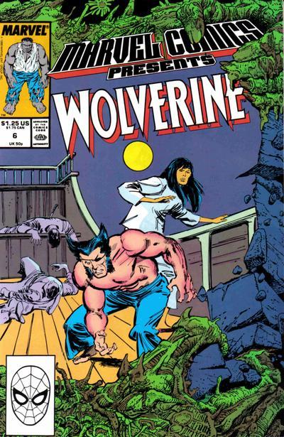 Marvel Comics Presents 6 - Wolverine, Man-Thing, Shang-Chi, Hulk