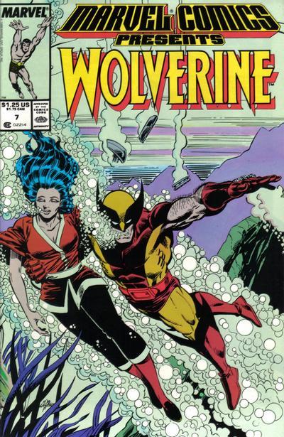 Marvel Comics Presents 7 - Wolverine, Man-Thing, Shang-Chi, Sub-Mariner