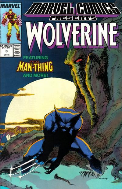 Marvel Comics Presents 8 - Wolverine, Man-Thing, Shang-Chi, Iron-Man