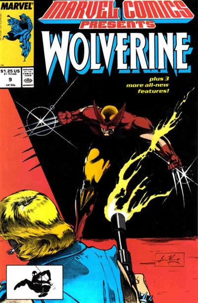 Marvel Comics Presents 9 - Wolverine, Man-Thing, Cloak, El Aguila