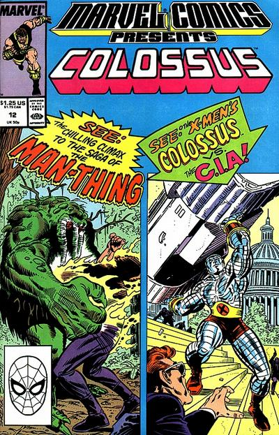 Marvel Comics Presents 12 - Colossus, Man-Thing, Hercules, Namorita
