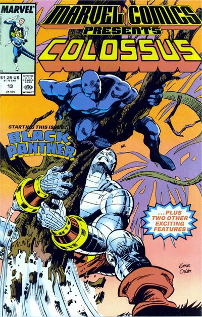 Marvel Comics Presents 13 - Colossus, Black Panther, Mr. Fantastic and the Invisible Woman, Shanna