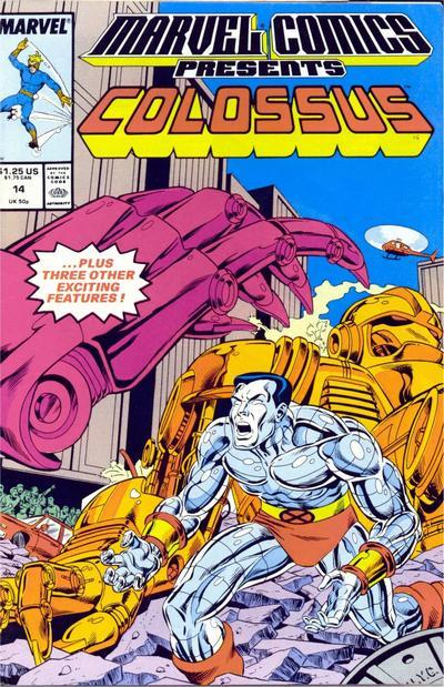 Marvel Comics Presents 14 - Colossus, Black Panther, Speedball, Nomad