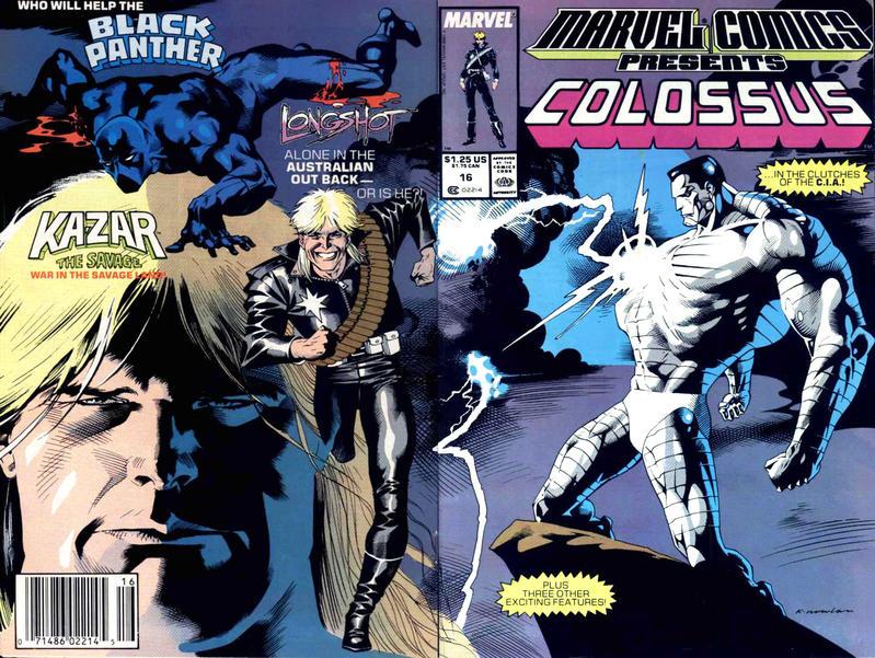 Marvel Comics Presents 16 - Colossus, Black Panther, Longshot, Ka-Zar