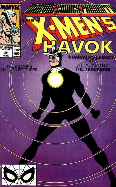 Marvel Comics Presents 25 - 1st appearance of Nth Man (John Doe)  Origin of Nth Man (John Doe)  Wraparound cover